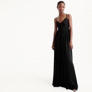 NWT J. Crew | Long drapey spaghetti-strap dress